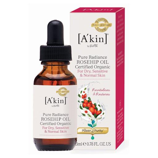 A'kin Pure Radiance Radiance Rosehip Oil