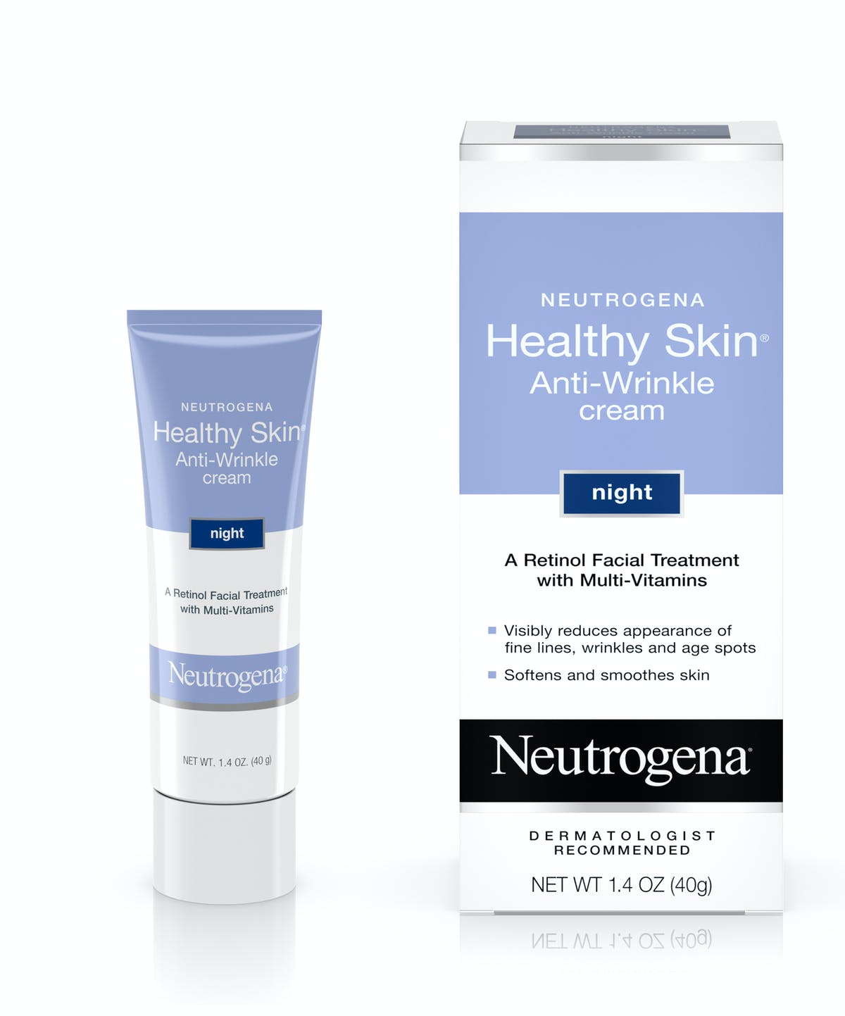 NEUTROGENA HEALTHY SKIN ANTI- WRINKLE CREAM NIGHT